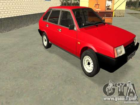 VAZ 2109 v2 for GTA San Andreas side view