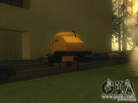Mukovoz K4-AMG trailer for GTA San Andreas right view