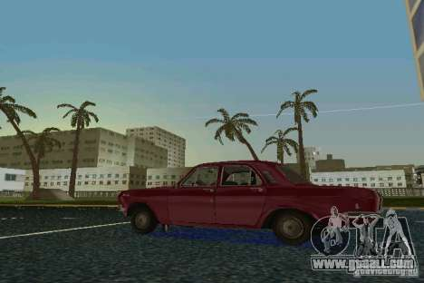 GAZ Volga 24 for GTA Vice City right view