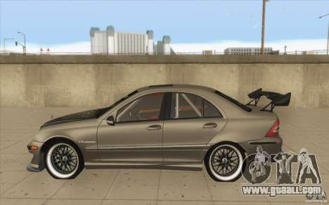 Mercedes-Benz C32 AMG Tuning for GTA San Andreas left view