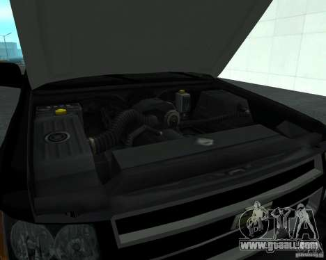 Chevrolet Tahoe BLACK EDITION for GTA San Andreas back view