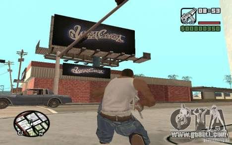 A Paint Shop West Coast Customs for GTA San Andreas third screenshot