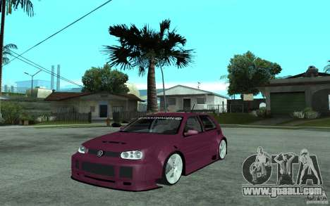 Volkswagen Golf GTI 4 Tuning for GTA San Andreas