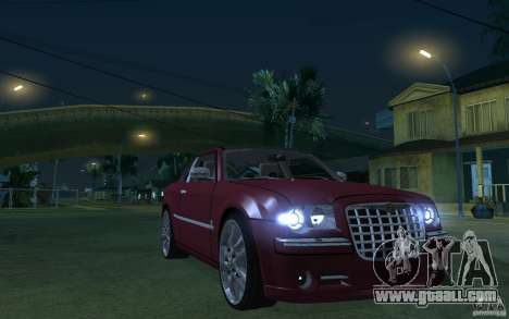 Chrysler 300c Roadster Part2 for GTA San Andreas back view