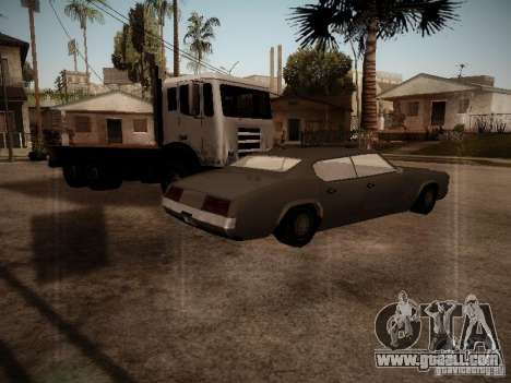Impaler 1987 San Andreas Stories for GTA San Andreas back left view