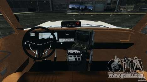 Dodge Monaco 1974 Police v1.0 [ELS] for GTA 4 back view