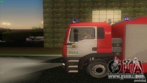 MAn TGL Riga FC for GTA San Andreas left view