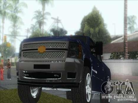 Chevrolet Silverado 1500 for GTA San Andreas back view