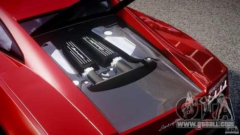 Lamborghini Gallardo LP570-4 Superleggera 2011 for GTA 4 upper view