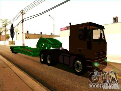 Iveco Eurotech for GTA San Andreas back left view