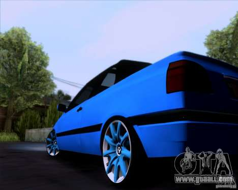 Volkswagen Golf III for GTA San Andreas right view