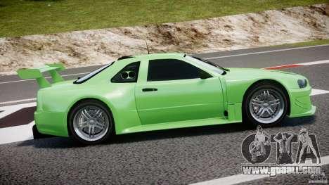 Nissan Skyline R34 v1.0 for GTA 4 upper view