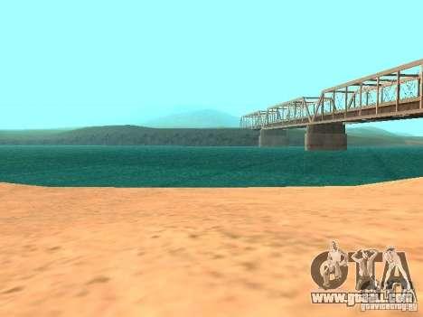 The default water for GTA San Andreas sixth screenshot