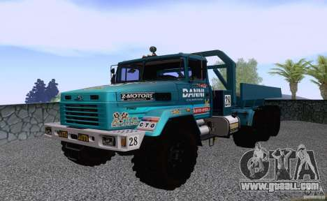 KrAZ 7140H6 Trial for GTA San Andreas