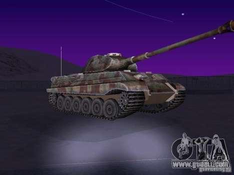 Pzkpfw VII Tiger II for GTA San Andreas left view
