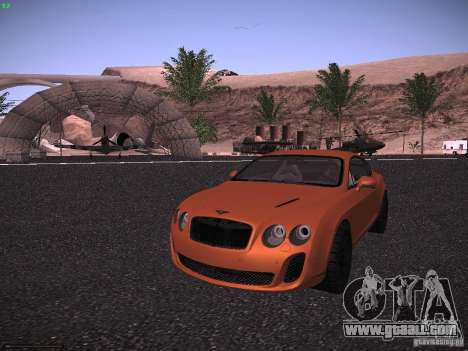 Bentley Continetal SS Dubai Gold Edition for GTA San Andreas