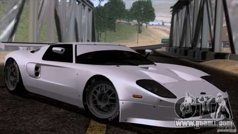 Ford GT Matech GT3 Series for GTA San Andreas right view