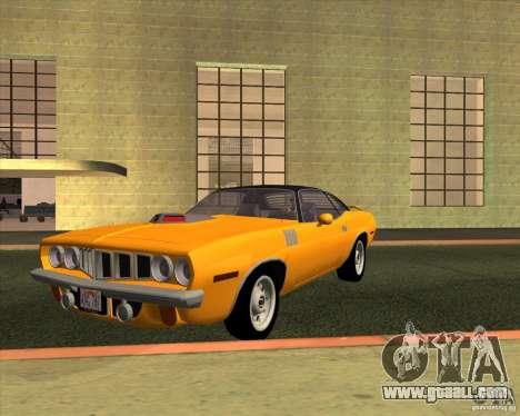 Plymouth Barracuda for GTA San Andreas
