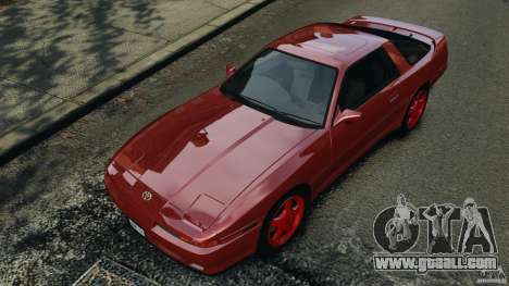 Toyota Supra 3.0 Turbo MK3 1992 v1.0 [EPM] for GTA 4 interior