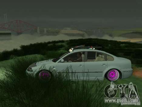 VW Passat B5 Dope for GTA San Andreas left view