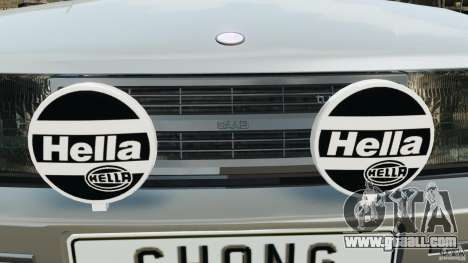 Saab 900 Coupe Turbo for GTA 4 wheels