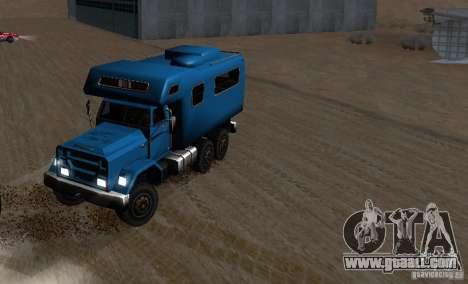 Journey 6x6 Enterable V1 for GTA San Andreas inner view