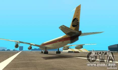 Boeing 707-300 for GTA San Andreas left view