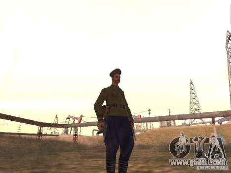 Soviet officer BOB for GTA San Andreas