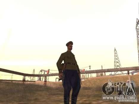 Soviet officer BOB for GTA San Andreas