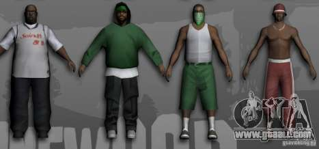Beta Peds for GTA San Andreas third screenshot