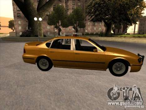 Taxi from GTA IV for GTA San Andreas left view