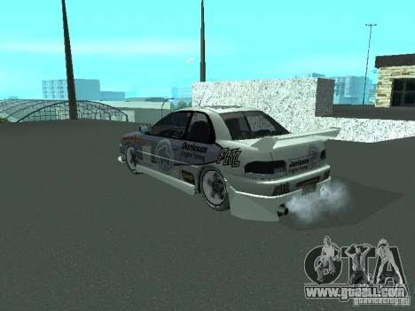Subaru Impreza for GTA San Andreas side view