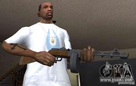 PPŠ41 for GTA San Andreas third screenshot