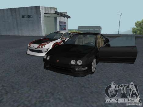 Acura Integra Type-R for GTA San Andreas left view