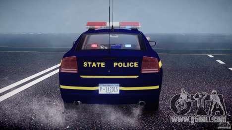 Dodge Charger New York State Trooper CHGR-V2.1M for GTA 4 wheels