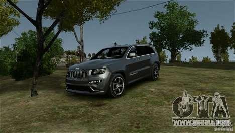 Jeep Grand Cherokee SRT8 for GTA 4