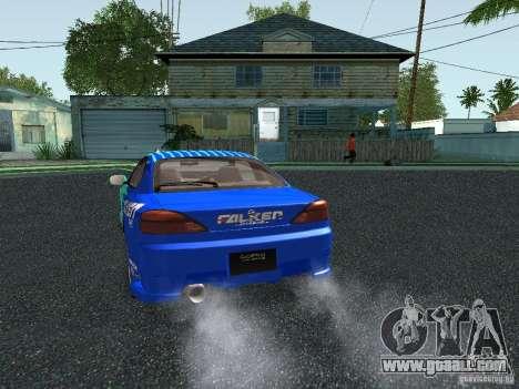 Nissan Silvia S15 Tunable for GTA San Andreas bottom view