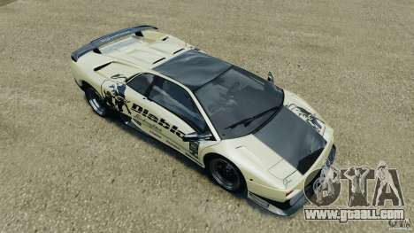 Lamborghini Diablo SV 1997 v4.0 [EPM] for GTA 4 engine