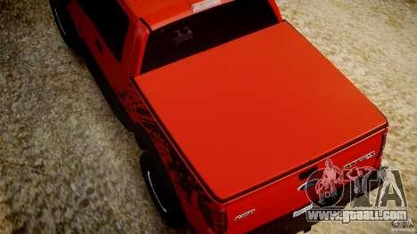 Ford F150 SVT Raptor 2011 for GTA 4 interior