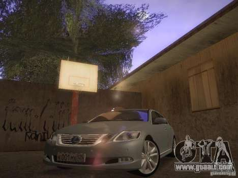 Lexus GS450H for GTA San Andreas