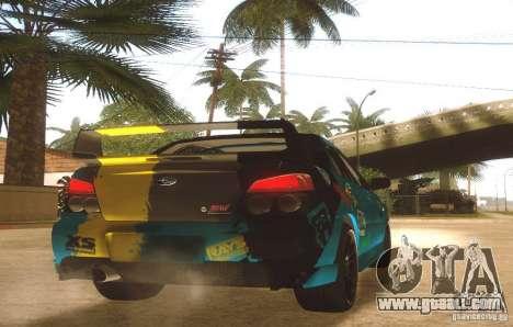 Subaru Impreza WRX STI Futou Battle for GTA San Andreas right view
