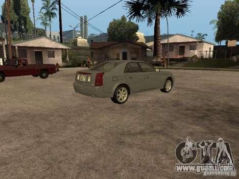 Cadillac CTS-V for GTA San Andreas left view