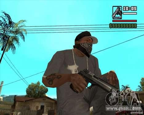 Millenias Weapon Pack for GTA San Andreas seventh screenshot