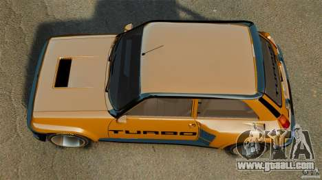 Renault 5 Turbo for GTA 4 right view