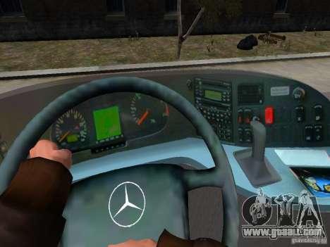 Mercedes Travego for GTA 4 interior