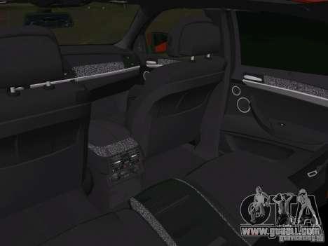 BMW X6M for GTA Vice City bottom view