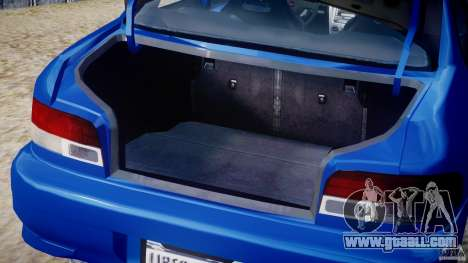 Subaru Impreza WRX STI 1999 v1.0 for GTA 4 side view
