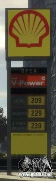 Shell Petrol Station for GTA 4 seventh screenshot