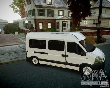 Renault Master for GTA 4 left view