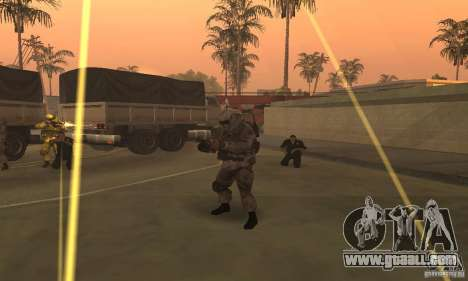 Soldiers from the CoD MW for GTA San Andreas forth screenshot